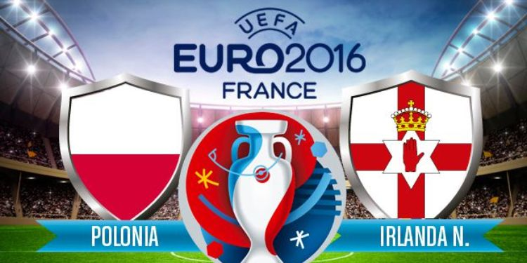 Euro 2016: Polónia vs Irlanda do Norte